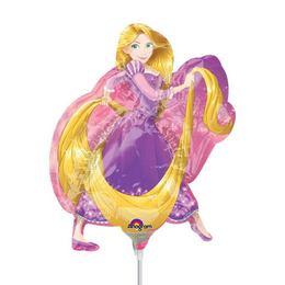 Aranyhaj - Rapunzel Mini Shape Fólia Lufi (5 db/csomag)