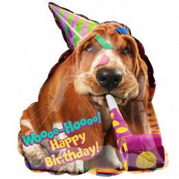 Avanti Basset Hound Birthday Szülinapi Super Shape Fólia Lufi