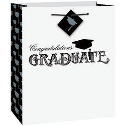 Ballagási Ajándéktasak - Congratulations Graduate Felirattal, Közepes