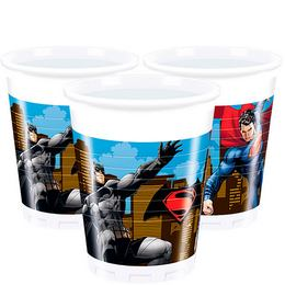 Batman vs Superman - Batman Superman Ellen Parti Pohár - 200 ml, 8 db-os