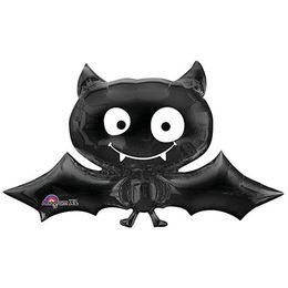 Black Bat - Denevér Mini Shape Fólia Lufi (5 db/csomag)