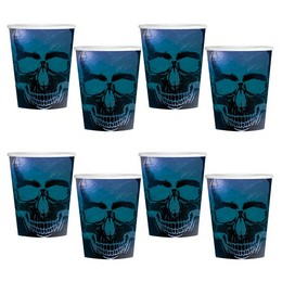 Boneshine Fever - Koponyás Parti Pohár - 250 ml, 8 db-os