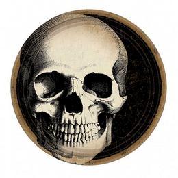 Boneyard - Koponyás Parti Tányér - 23 cm, 10 db-os