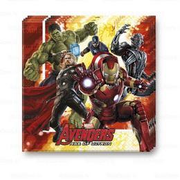 Bosszúállók 2 (Avengers 2) Parti Szalvéta - 33 cm x 33 cm, 20 db-os