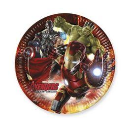 Bosszúállók 2 (Avengers 2) Parti Tányér - 23 cm, 8 db-os