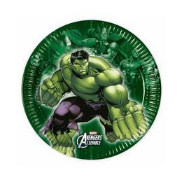 Bosszúállók (Avengers) Parti Tányér - 20 cm, 8 db-os