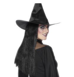 Boszorkány Fekete Női Parti Paróka
