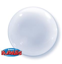 Egyszínű Deco Bubble Lufik