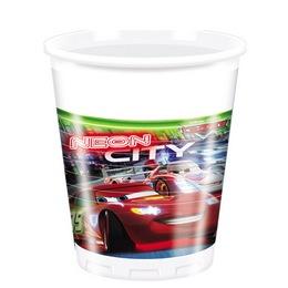 Cars Neon City - Verdák Parti Pohár - 200 ml, 8 db-os