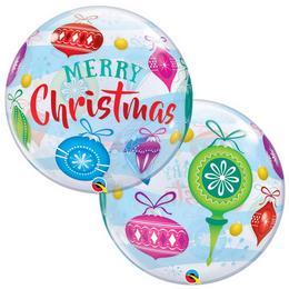 22 inch-es Christmas Ornaments - Karácsonyfa Díszek Karácsonyi Bubble Lufi