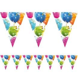 Csillogó Lufik - Sparkling Balloons Parti Zászlófüzér - 230 cm
