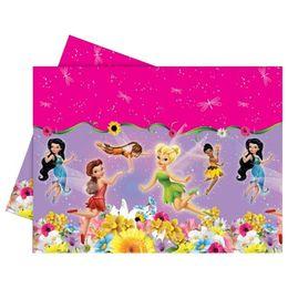 Csingiling - Fairies Springtime Parti Asztalterítő - 180 cm x 120 cm