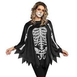 Csontváz Mintás Poncsó