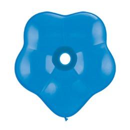 16 inch-es Dark Blue (Standard) Blossom Lufi (25 db/csomag)