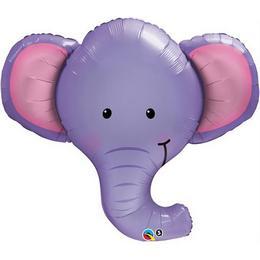 39 inch-es Elefánt Fej - Ellie the Elephant Fólia Lufi