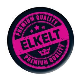 Fekete-Rózsaszín Elkelt Feliratú Kitűző Lánybúcsúra - 5,5 cm