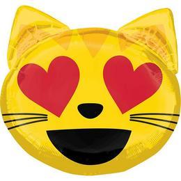 Emoticon Cat Love Super Shape Fólia Lufi