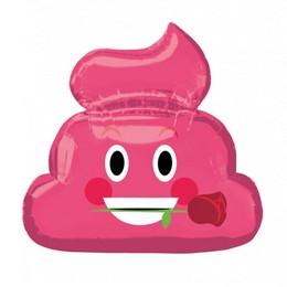 Emoticon Pink Poop Super Shape Fólia Lufi