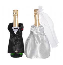 Esküvői Üvegruha Szett - 2 db-os
