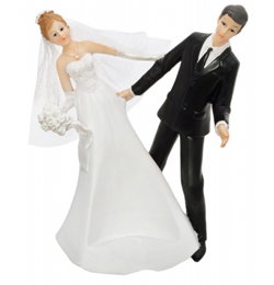 Táncoló Esküvői Pár Italtartó