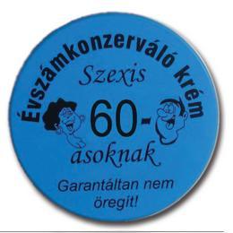 Évszámkonzerváló krém Szexi 60-asoknak - Garantáltan nem öregít
