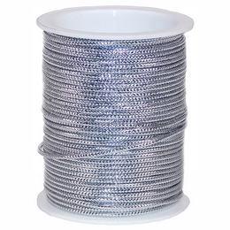 Ezüst Díszítő Kötöző Szalag - 10 m
