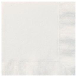 White Papír Parti Szalvéta - 33 cm x 33 cm, 20 db-os