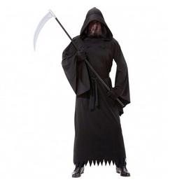 Fekete Fantom Jelmez Halloween-ra, XXL-es