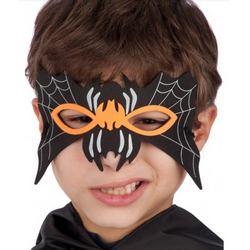 Fekete Pókszerű Szemmaszk Gyerekeknek Halloween-ra