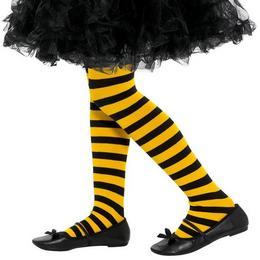 Fekete-Sárga Csíkos Méhecske Harisnya Gyerekeknek