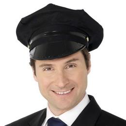 Fekete Sofőr Sapka
