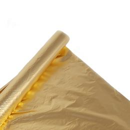 Metál Fényes Aranysárga Színű Fólia Csomagoló - 1 m x 20 m