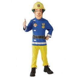 Fireman Sam - Sam, a Tűzoltó Jelmez Gyerekeknek - S-es