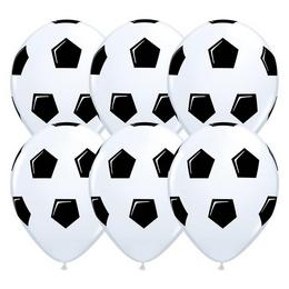 11 inch-es Soccer Ball/Football White Lufi (25 db/csomag)
