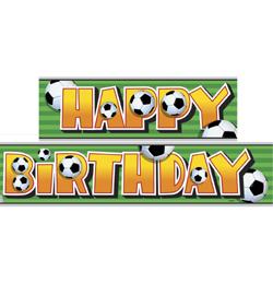 focis szülinapi kép 3 D Soccer   Foci Parti Banner   3,6 m | Léggömb és Parti Áru  focis szülinapi kép