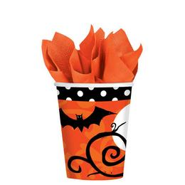 Frightfully Fancy Halloween Parti Pohár - 266 ml, 18 db-os