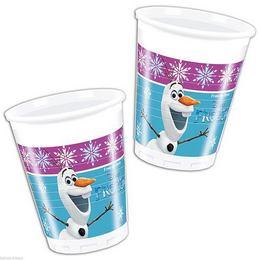 Frozen - Jégvarázs Északi Fény Parti Pohár - 200 ml, 8 db-os