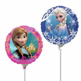 9 inch-es Jégvarázs - Frozen - Fólia Lufi (5 db/csomag)