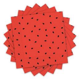 Görögdinnye Mintás Parti Szalvéta - 33 cm x 33 cm, 20 db-os