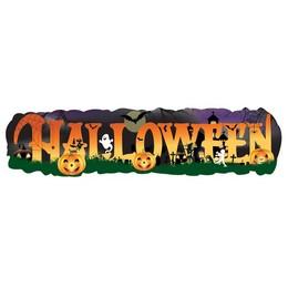 Halloween Banner - 90 cm x 22 cm