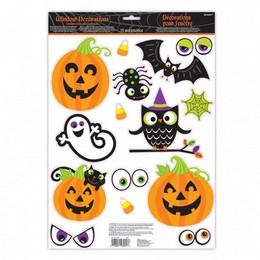 Halloween Family Ablakdekoráció - 15 db-os