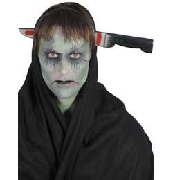 Késsel Átszúrt Fej