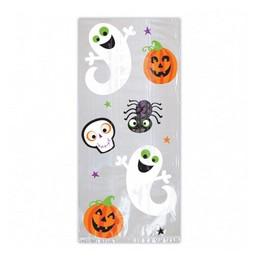 Halloween Ikon Mintás Ajándéktasak - 20 db-os