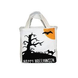 Halloween Mintás Cukorka Gyűjtő Vászontáska