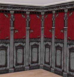 Gótikus Szobadíszlet - 6 m x 1,2 m