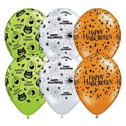 11 inch-es Halloween Assortment Lufi (25 db/csomag)