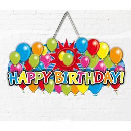 Happy Birthday Dekoráció Saját Fotóval