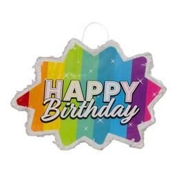 Happy Birthday Színes Csillag Pinata Parti Játék
