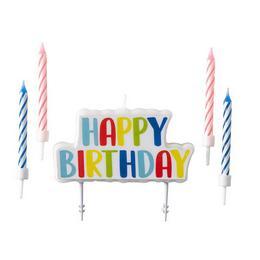 Happy Birthday Szülinapi Gyertya Szett