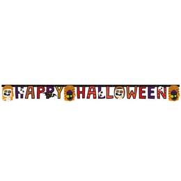 Happy Halloween Kids Parti Betűfüzér - 180 cm